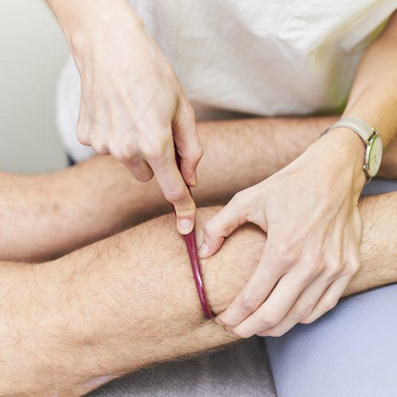 exercice kinésithérapie jambe