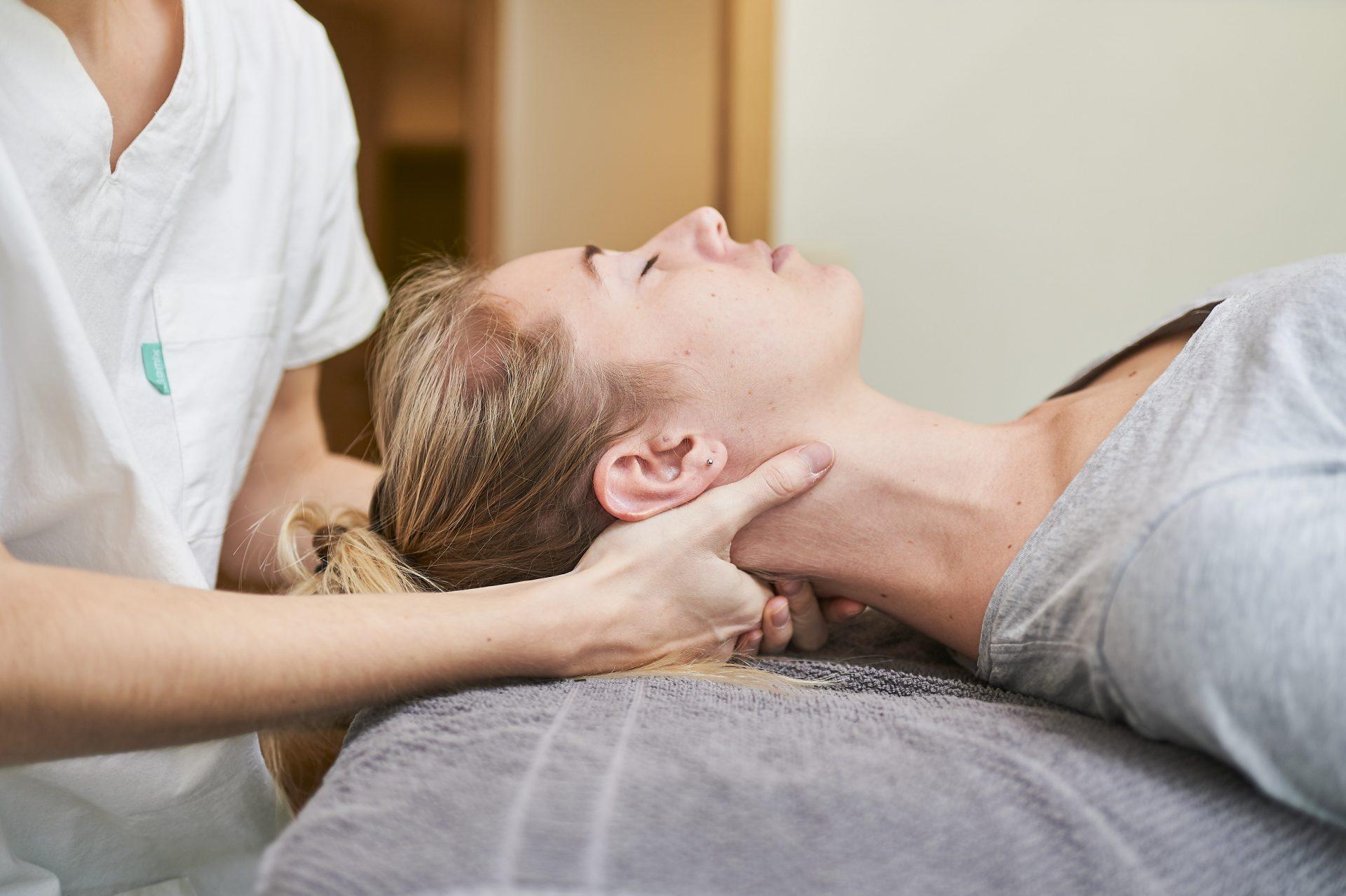 massage thérapeutique nuque