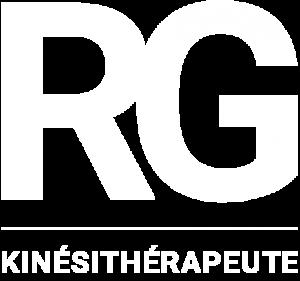 logo RG Kinésithérapie white